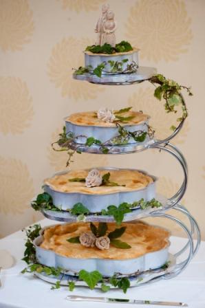 Day 9: Wedding Pie!  Pie a Day Give Away