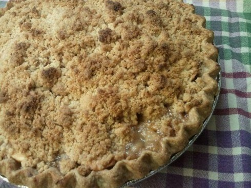 Apple Crumb Crust Pie 315