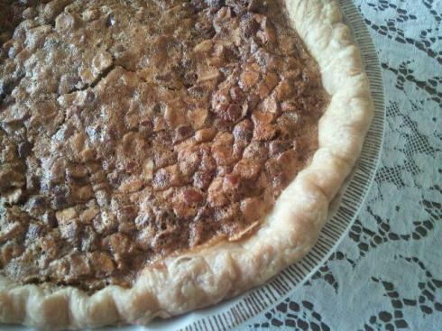 Honey Almond Pie