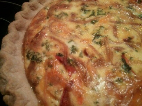 quiche for Glenn