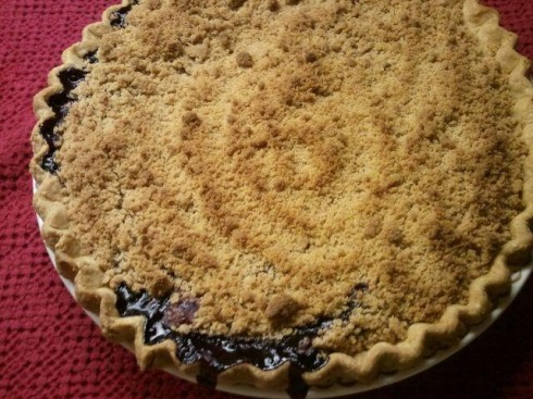 BAKED MARIONBERRY PIE