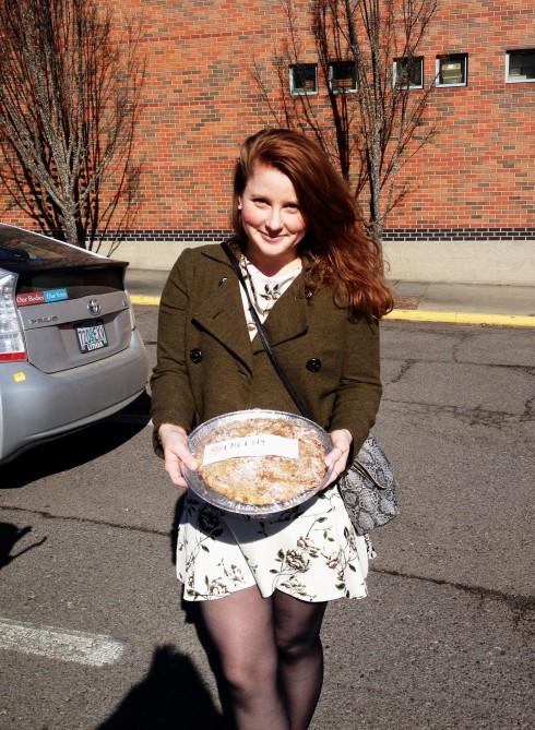 Alex with pie at SOU
