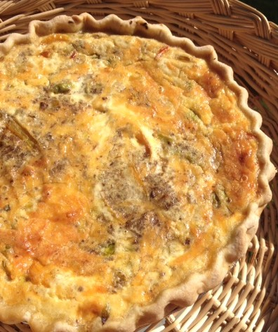 quiche for ellie