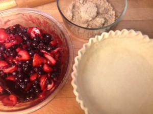 pie prep for PK