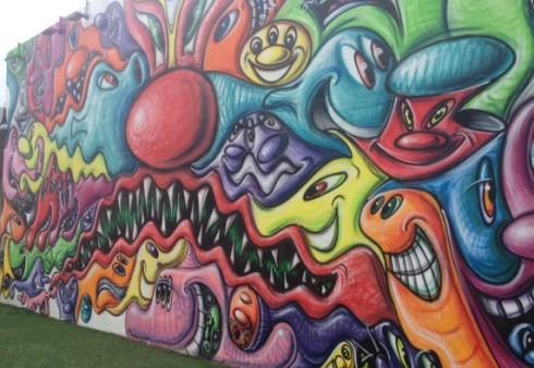 wall in miami