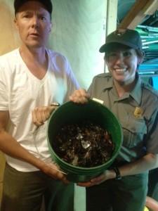 Bucket of Crayfish on Wizard Island