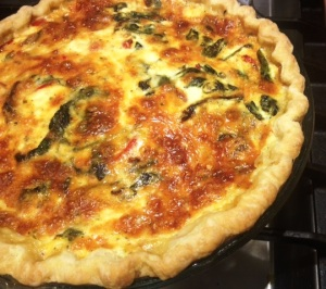 a quiche for Liz