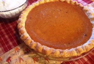 pumpkin pie for Debbie