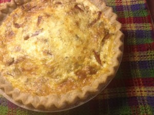 quiche for JoAnn