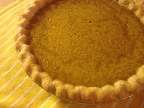 pumpkin pie for george